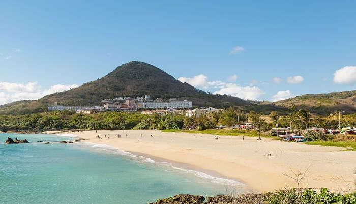 Kenting Beach in Taiwan