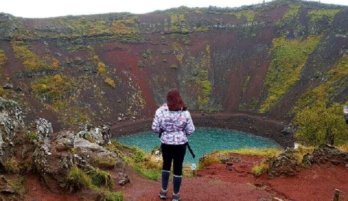Kerid Volcano crater