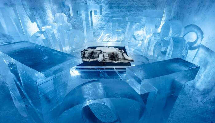 Kiruna and the ice hotel