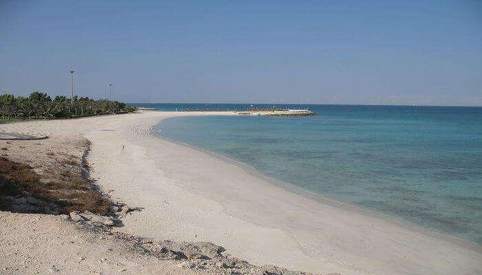 Kish Beach Island