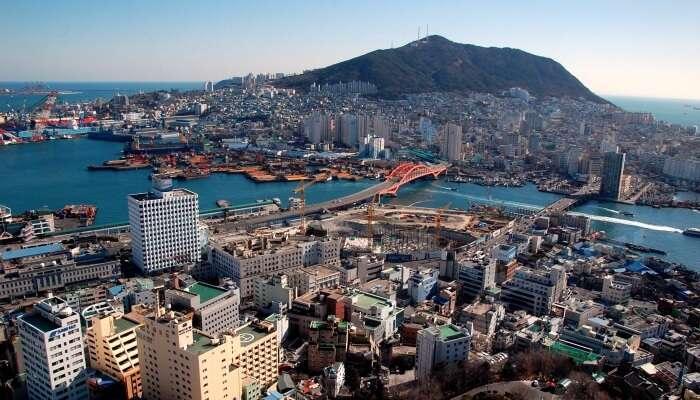 Busan aerial view