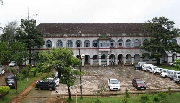 historical fort in coorg, karnataka