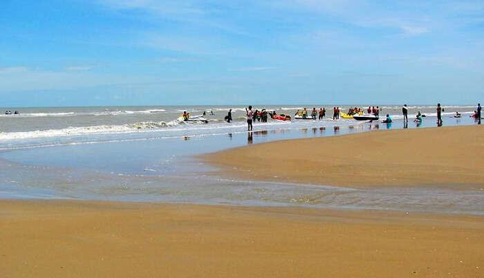 Mandarmani Beach in West Bengal