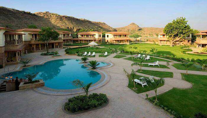 offers the luxurious wellness facilities