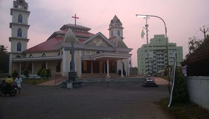 Mary Matha Church Ollur