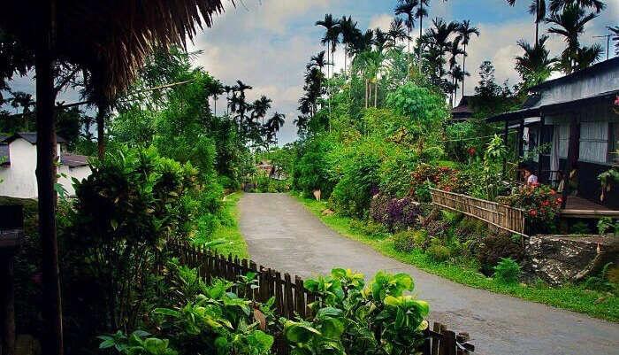 Mawlynnong Village in Meghalaya