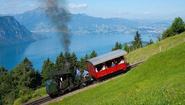 Mount Rigi cogwheel train