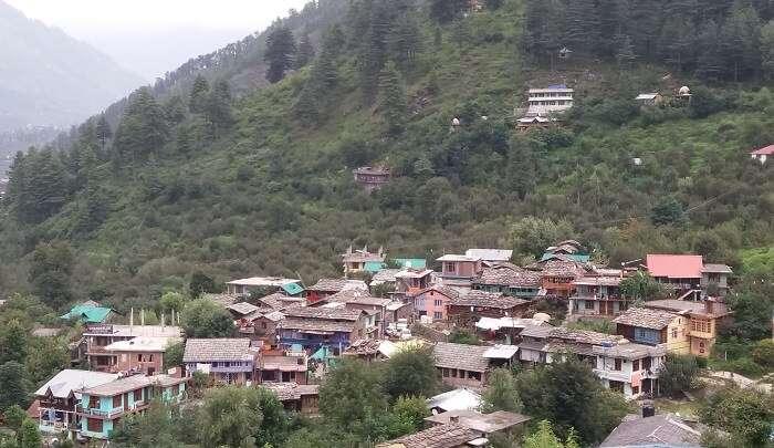 naggar village view