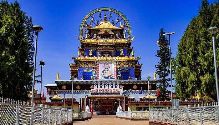 a Namdroling Monastery