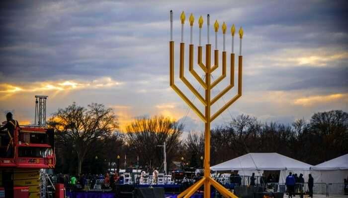 National Menorah Lighting, Washington, DC USA