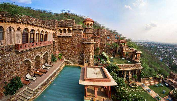 Neemrana Fort Palace- Where Heritage Blends With Luxury