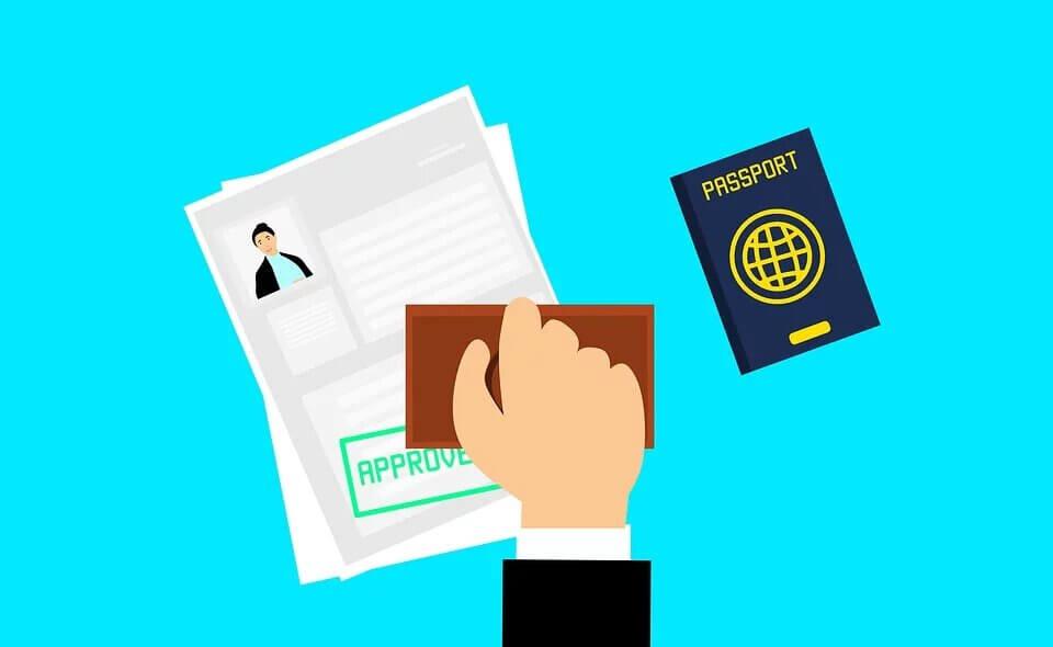 Offline Visa Process