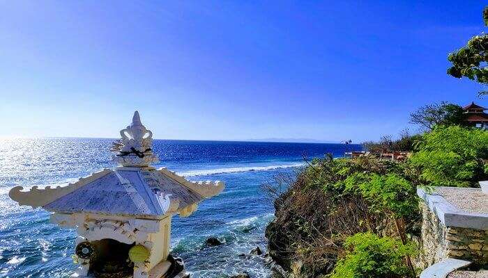 picturesque hotel in Nusa Penida