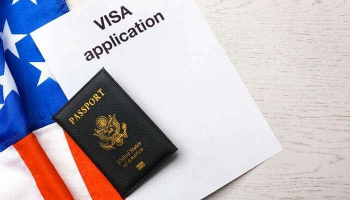 fill the form for visa