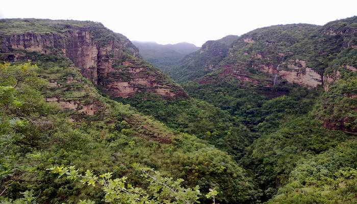 Amazing view of Pachmarhi