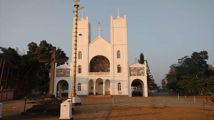 Pallikkunnu Church is the best Church in Wayanad