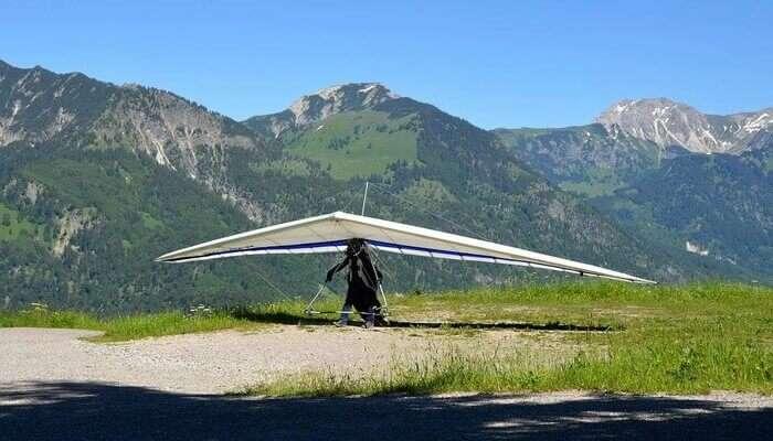 Panchgani Hang gliding