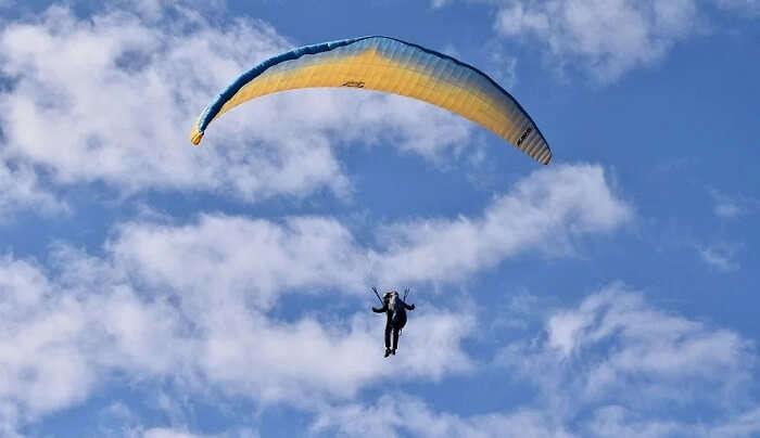 paragliding experience in Jodhpur