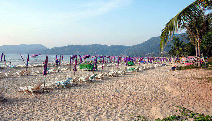most crowded beach in Phuket