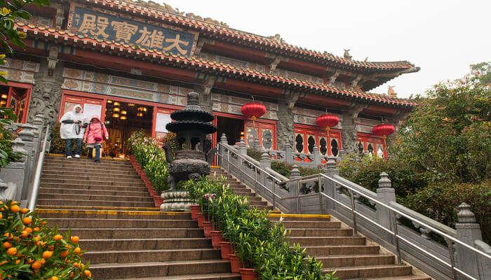 monastrey in Hong Kong