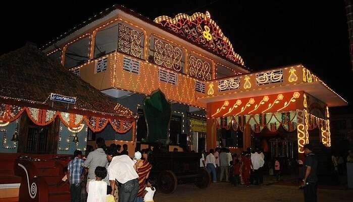 polali rajrajeshwari temple