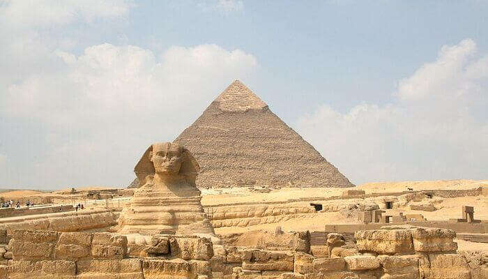 get to see the great pyramids