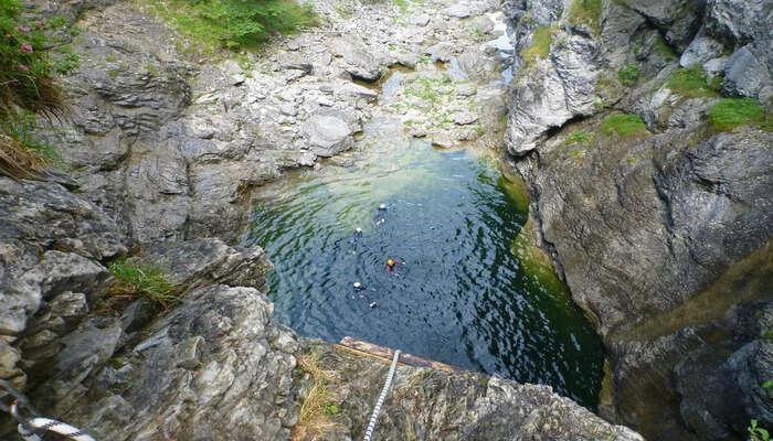River Canyoning