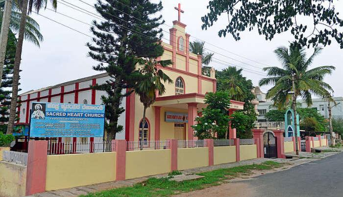 Sacred-Heart-Church in Mysore