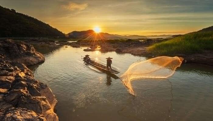 Mekong river of Cambodia
