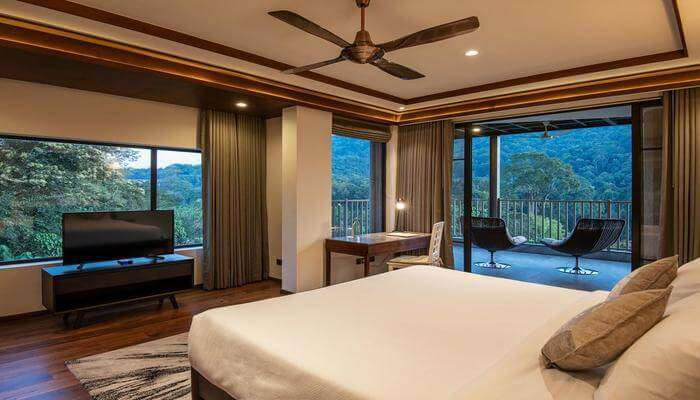 five-star resort is in Athirapally