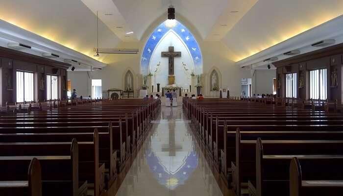 Santo Mikael Church seminyak