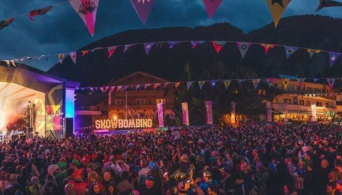 Snowbombing is best things to do