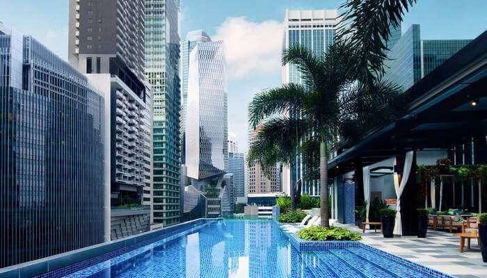 a luxury accommodation