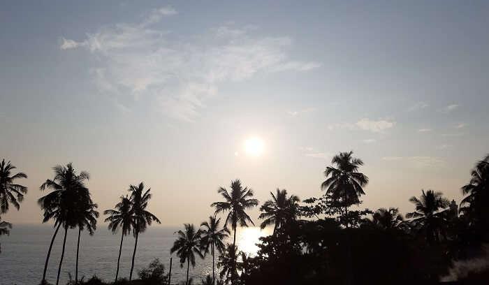 Somewhere in Kovalam