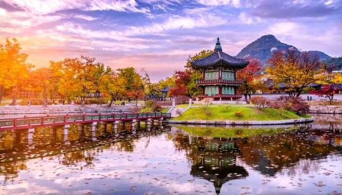 South Korea in November