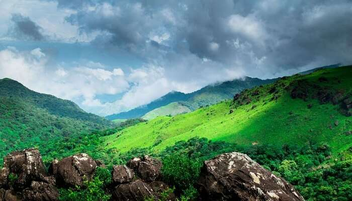 landscape dcenic views, coorg