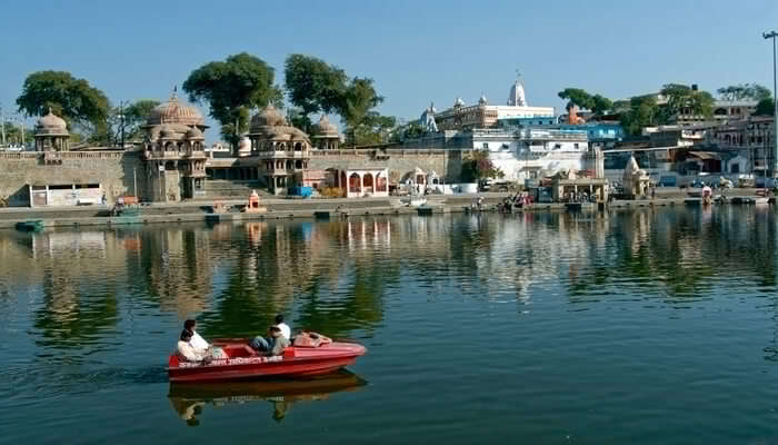 Boat Ride At Ram Ghat