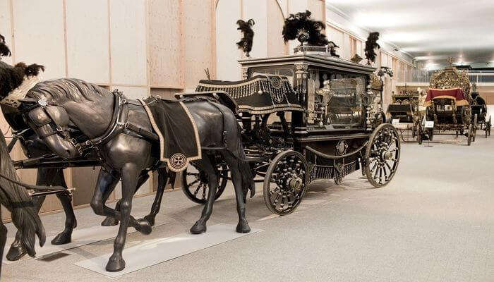 Take A Tour of Funeral Carriages Museum