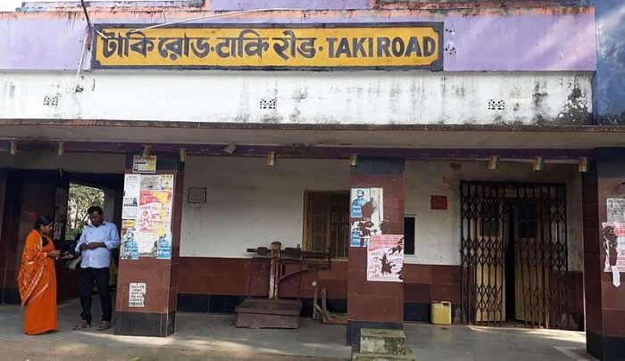 Taki Railway Station