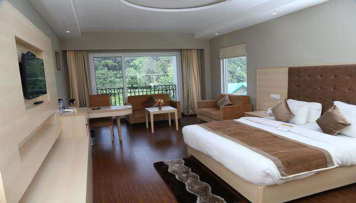 room view of the hotel
