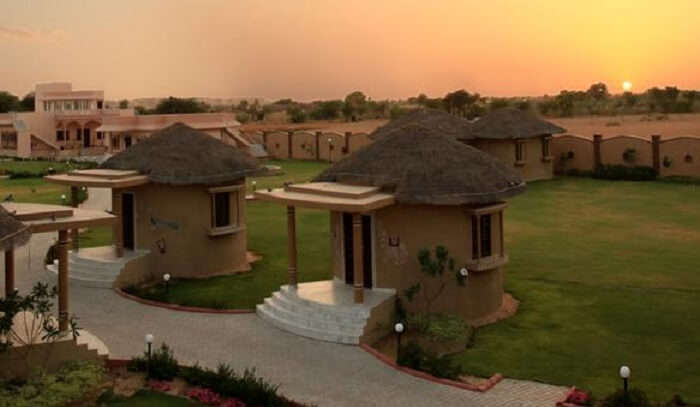 outdoor view of the resort