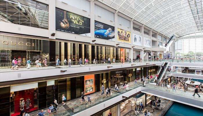 the mall houses for top luxury brands