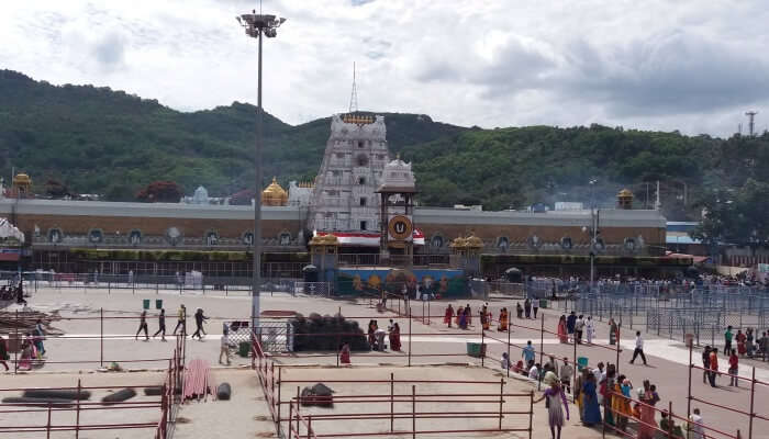 Tirupati is a religious place
