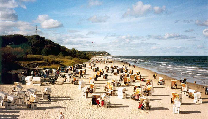 Usedom Beach in Germany