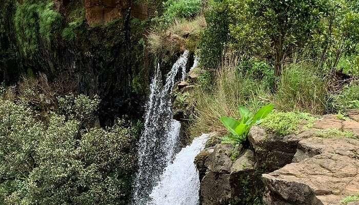 Vajrapoha waterfall view