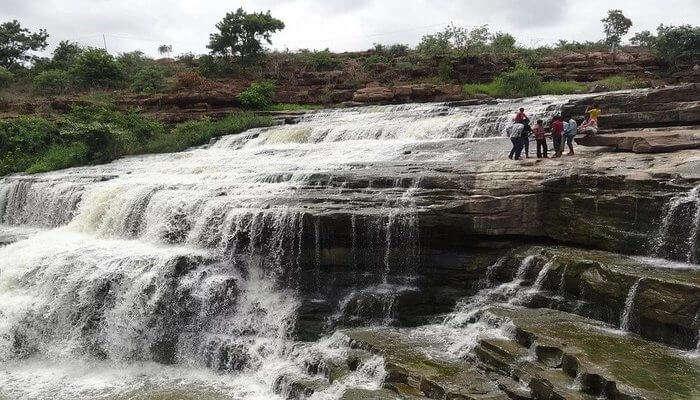 Valanjaganam Waterfalls