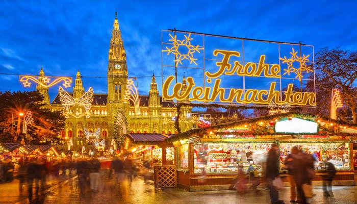 Vienna Weihnachtsmarkt
