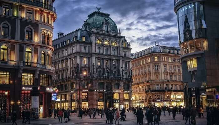 Vienna is a beautiful city in Austria