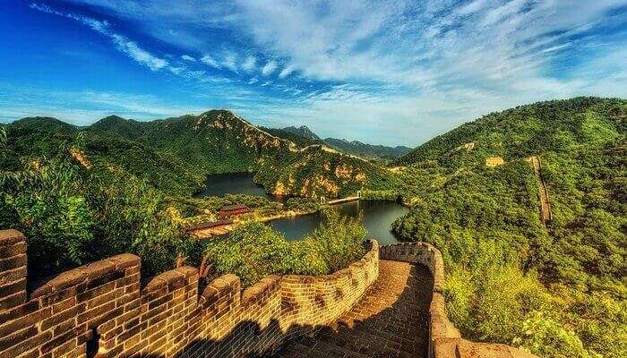 Visit To The Great Wall Of China
