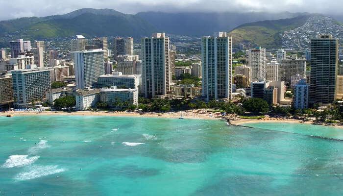 Waikiki In Oahu